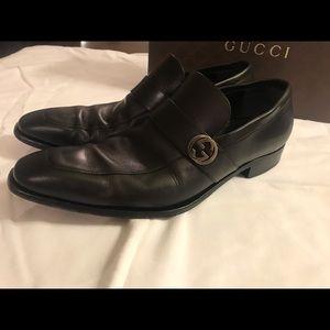 c78a8815ec2654 Gucci Shoes - Men s Gucci Black Leather Size 11.5 D
